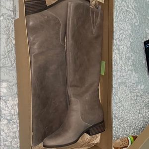 Lucky Brand tall Riding boots